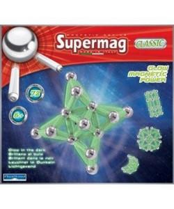 PlastWood Supermag Klasik fosforeskující 72 dílků