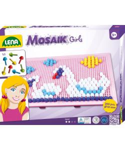 Lena Mozaika velká pro holky 200ks, klobouček 10mm