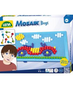 Lena Mozaika velká pro kluky 200ks, klobouček 10mm