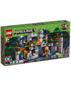 LEGO® Minecraft 21147 Skalní dobrodružství