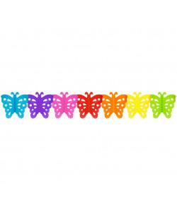 Girlanda papírová Motýl 300x19,3x15,5cm