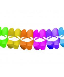 Girlanda různobarevná 360x16,5x16,5cm