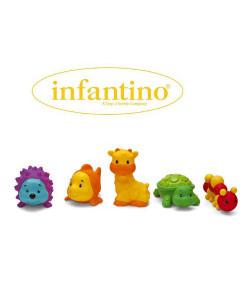 Infantino Set - zvířátka 5 ks