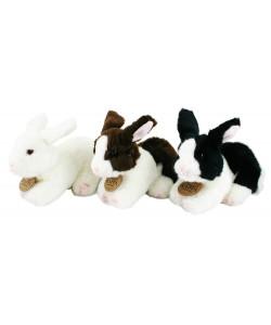 Rappa Plyšový králík ležící, 3 druhy, 16 cm