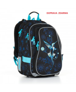 Školní batoh Topgal CHI 882 A Black DOPRAVA ZDARMA