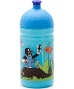 Zdravá lahev Krtek a kalhotky 0,5l - modrá