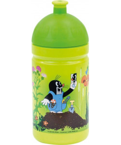 Zdravá lahev Krtek a kalhotky 0,5l - zelená