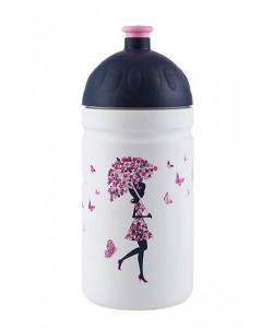 Zdravá lahev® Dívka s deštníkem 0,5l