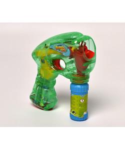 Svítící bublifuková pistole - zelená