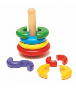 Woody Skládací magnetická pyramida - Káča