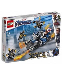LEGO® 76123 Captain America: útok Outriderů