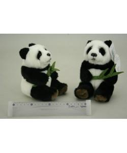 Plyš Panda s listem