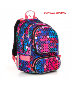 Školní batoh Topgal ALLY 18012 G DOPRAVA ZDARMA