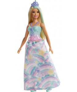 Mattel Barbie Kouzelná princezna - blondýnka