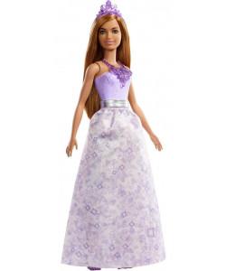 Mattel Barbie Kouzelná princezna - brunetka