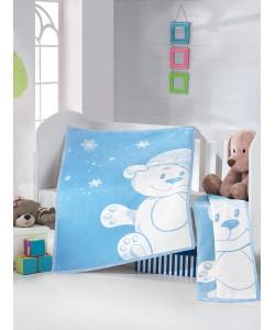 Matějovský Dětská deka Teddy 90x130cm