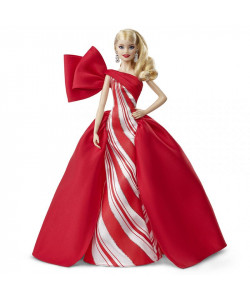 Mattel Barbie Vánoční panenka blondýnka