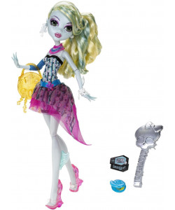 Panenka Monster High příšerka - Lagoona Blue