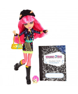 Monster High Příšerka 13 přání - Howleen Wolf