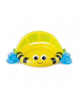 MAC TOYS Dětský bazének se stříškou 132x102x55cm