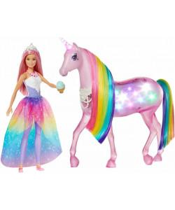 Mattel Barbie® Kouzelný jednorožec a panenka
