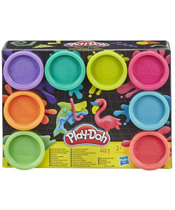 Play-Doh Balení 8 ks kelímků - Neon