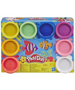 Play-Doh Balení 8 ks kelímků - Rainbow