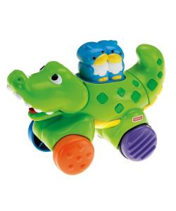 Fisher Price jezdící zvířátka - krokodýl