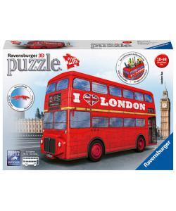 Ravensburger 3D Puzzle Londýnský autobus 216 dílků