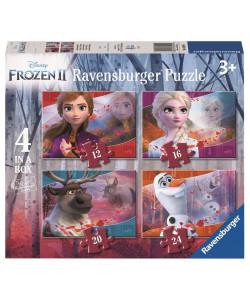 Puzzle 30194 Disney Ledové království 2, 4 v 1