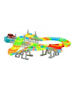 Mac Toys Svítící dráha, 192 dílků