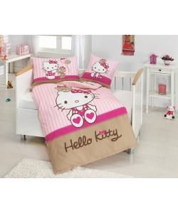 Povlečení do postýlky Hello Kitty bear