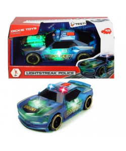 Dickie Policejní auto Lightstreak, 20 cm