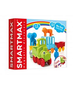 Smartmax Můj první vláček se zvířátky - 25 ks
