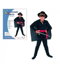 Kostým dětský Bandita 120-130 cm