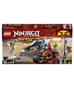 LEGO® 70667 Kaiova motorka a Zaneův sněžný vůz