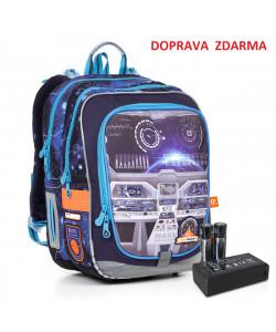 Svítící školní batoh Topgal ENDY 17003 BATTERY AA