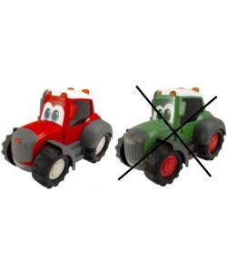 Dickie Traktor Happy 25 cm - ČERVENÝ