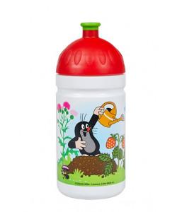 Zdravá lahev® Krtek a jahody 0,5l - červené