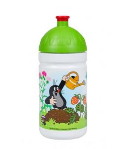 Zdravá lahev® Krtek a jahody 0,5l - zelené