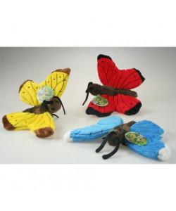 Lamps Plyšový motýl, 3 barvy