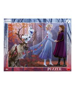 Dino Puzzle deskové FROZEN II 40 dílků