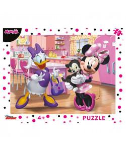Dino Puzzle deskové WD Růžová Minnie 40 dílků