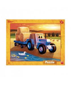 Dino PuzzleZetor: Žně deskové 40 dílků