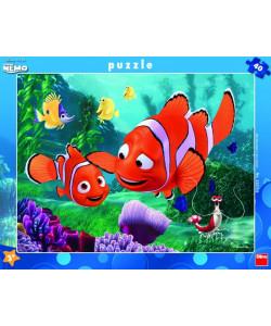 Dino Puzzle deskové WD Nemo 40 dílků