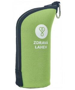Zdravá lahev® Termoobal CABRIO reflex 0,5l zelený
