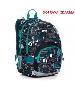 Školní batoh Topgal KIMI 20021 B DOPRAVA ZDARMA