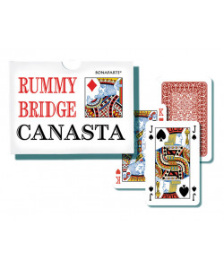Karty Canasta Bonaparte v plast. krabičce
