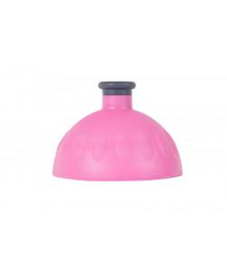 Zdravá lahev® Víčko růžové fluo - zátka antracit