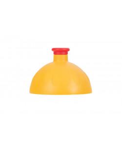 Zdravá lahev® Víčko tmavě žluté - zátka červená